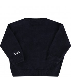 Blue sweater for babyboy