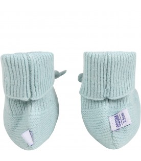 Teal bootee for babykids