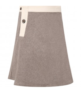Grey skirt for girl