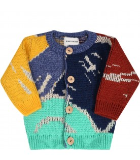Multicolor cardigan for babykids
