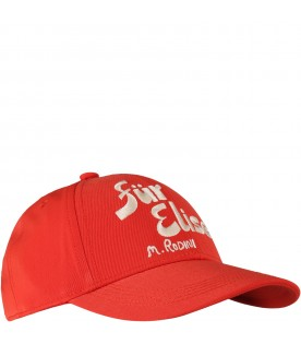 Red hat for kids with logo