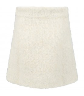 Ivory ''Pasqua''skirt for girl