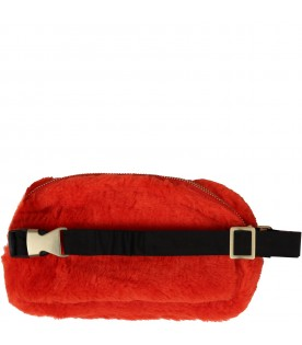 Red bumbag for kids with panda