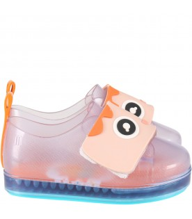 Transparent shoes for kids