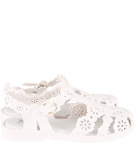 Ivory spider shoes for woman