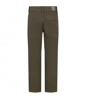 Militay green pants for boy