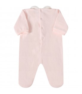 Pink babygrow for babygirl