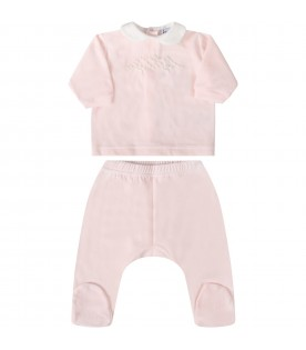 Pink suit for babygirl