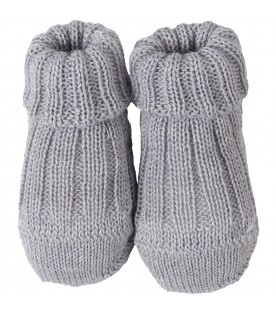 Grey baby bootee for babykids