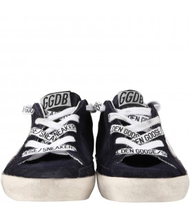 Denim ''Super star''  sneakers for kids with iconic star