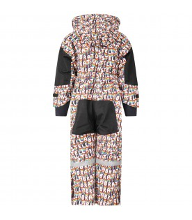 Multicolor overall for kids