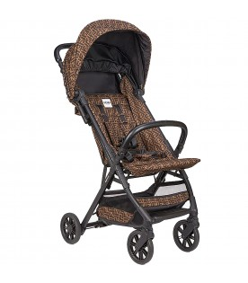 Brown cabin stroller