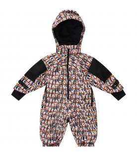 Multicolor overall for babykids