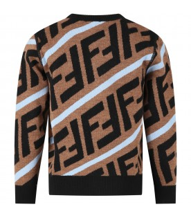 Brown sweater for kids
