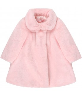 Pink faux-fur for babygirl