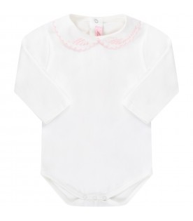 White body for babygirl with logo