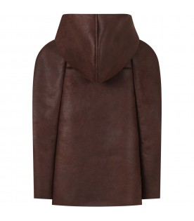 Brown cape for girl