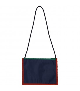 Blue passaport bag for kids