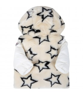 Ivory ''Joseline'' faux fur for babygirl