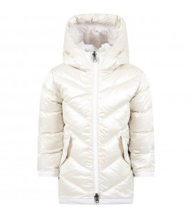 Ice jacket for girl with logo