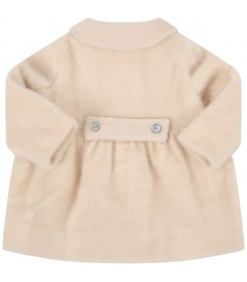 "Ivory ""Cloe"" coat for babygirl"