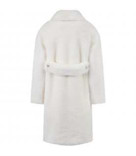 Ivory fauxfur for girl