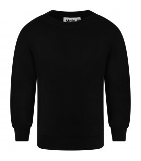 Black t-shirt for kids