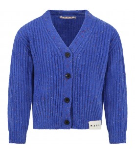 Blue royal cardigan for kids
