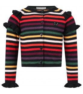 Multicolor cardigan for babygirl