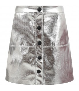 Silver skirt for girl