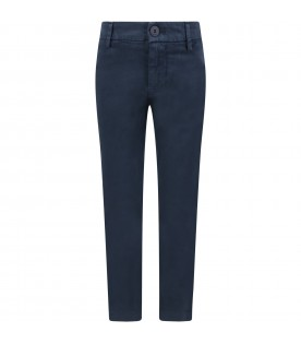Blue ''Perfect''pants for girl with iconic D