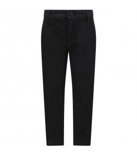 Black ''Perfect'' pants for girl with iconic D