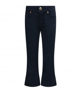 Blue ''Mandy'' trousers for girl