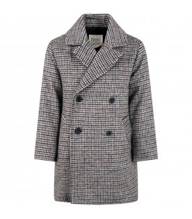 "Multicolor coat ""Ambrogio"" for kids"