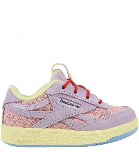 Multicolor sneakers for girl