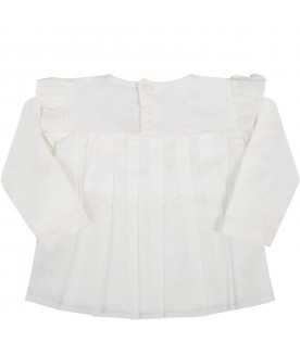 White blouse for babygirl