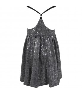 Silver overalls for girl